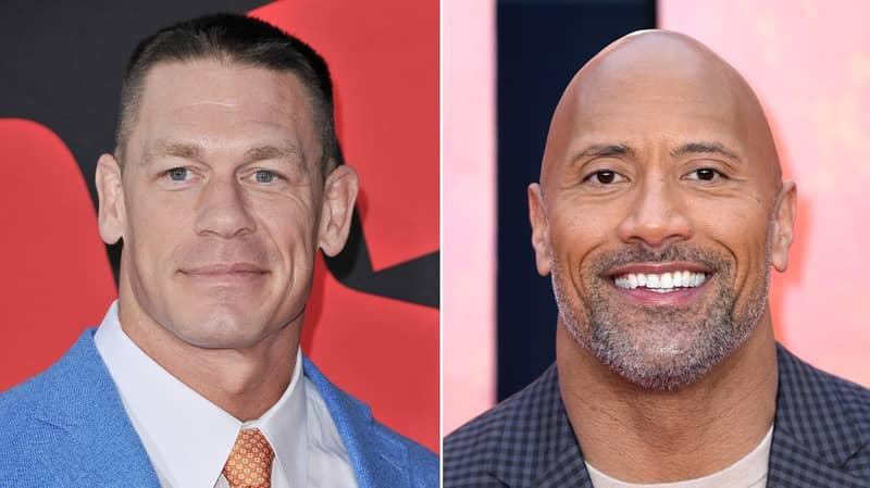 John Cena Will Star In Movie Produced By Dwayne 'The Rock' Johnson