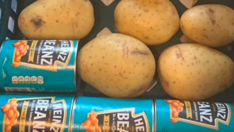 Dad Of Five Given £7.20 Worth Of Food In £30 Free School Meal Hamper