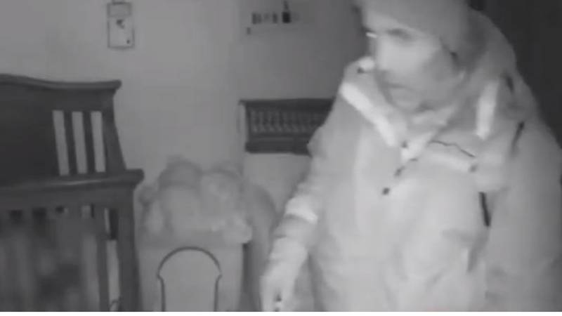 Couple Discover Burglar Lurking On Their Baby Monitor