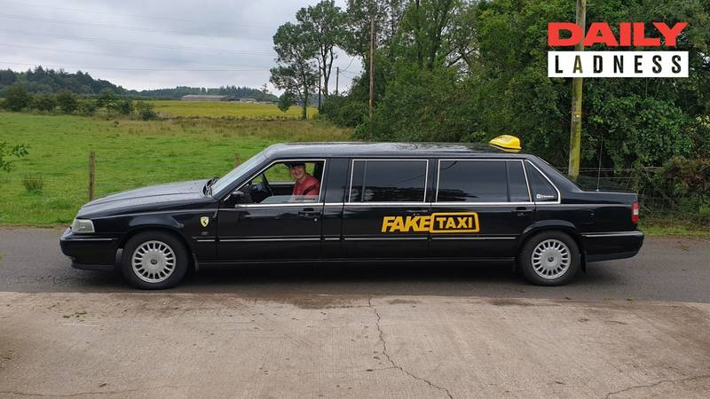 LADs Turn £1000 Limo Into A Fake Taxi And Take It On European Stag Do