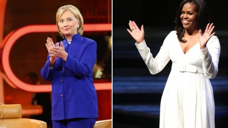Michelle Obama Beats Hillary Clinton To Become 'Most Admired Woman In America'