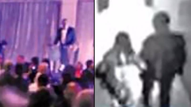 Groom Plays Video To Expose Cheating Bride At Their Wedding