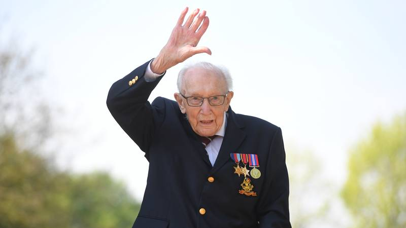 Captain Tom Moore Has Now Raised Over £20 Million For The NHS