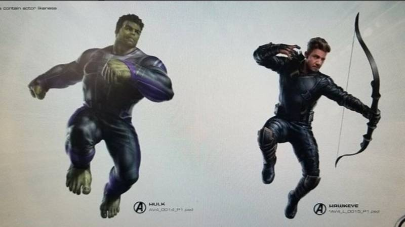 ​Avenger's 4 Title And Superhero Costume Artwork Leaked