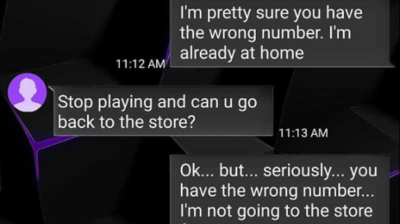 Mum Refuses To Believe Texting Stranger Isn't Her Daughter