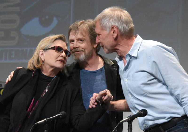 Carrie Fisher Reveals Mark Hamill Almost Caught Her And Harrison Ford Banging