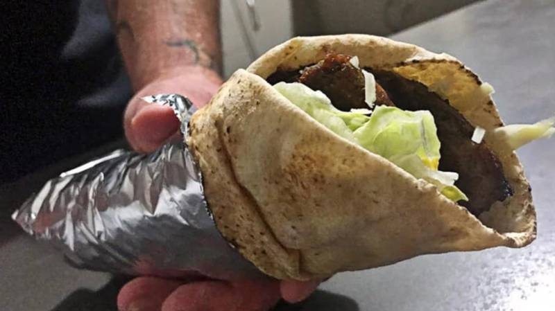 Aussie Bloke Combines Burger And Doner Kebab To Create The 'McKebab'