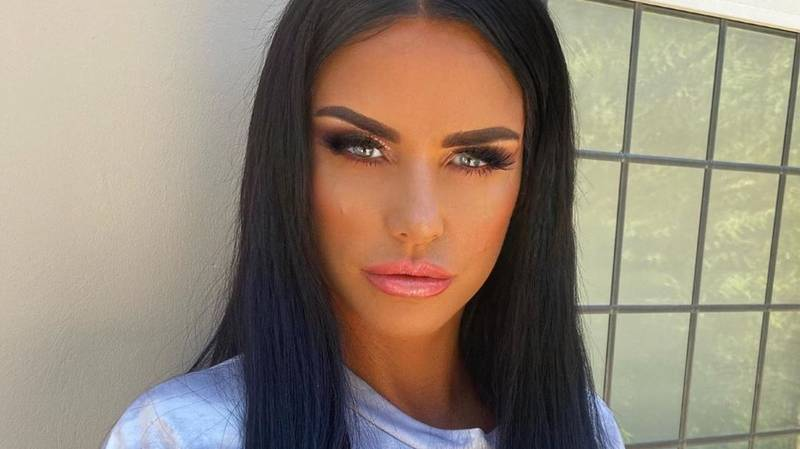 Katie Price Reveals She Has Broken Both Ankles And Feet In Holiday Accident