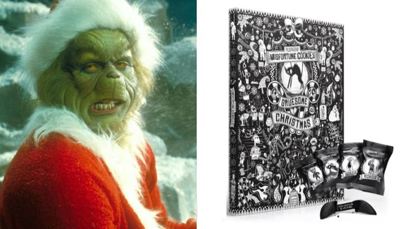 This Anti-Advent Calendar Is Perfect For The Christmas Hating Grinch In Your Life