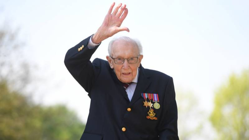 Spitfire Flypast Planned For Captain Tom Moore's 100th Birthday