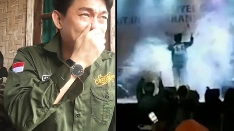 Heartbroken Singer Weeps After Bandmates Are Swept Away By Tsunami