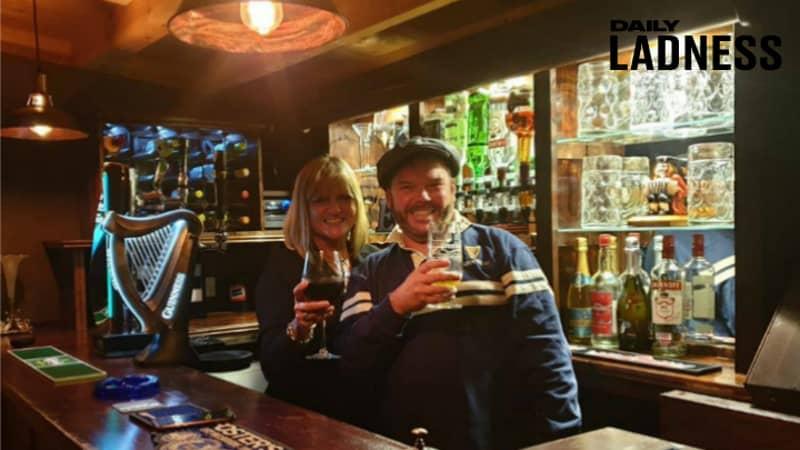 Bloke Builds Partner Incredible Garden Pub In Honour Of Her Late Parents