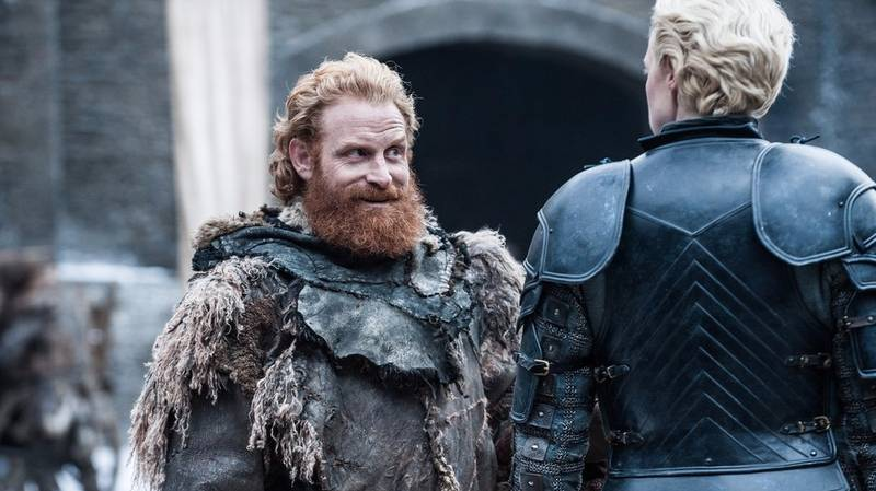 There's A Picture Of Tormund Without A Beard And He Looks Fresh As F**k