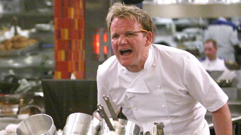 Gordon Ramsay Is Back Doing What He Does Best: Slagging Off People's Food