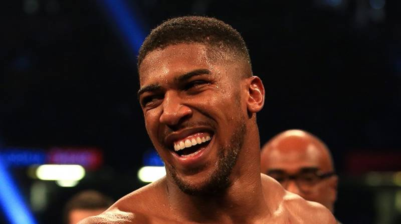 Anthony Joshua Buys Van For Boxing Club Where His Career Began