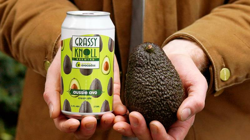 Aussie Company Unveils Beer Made With Avocados