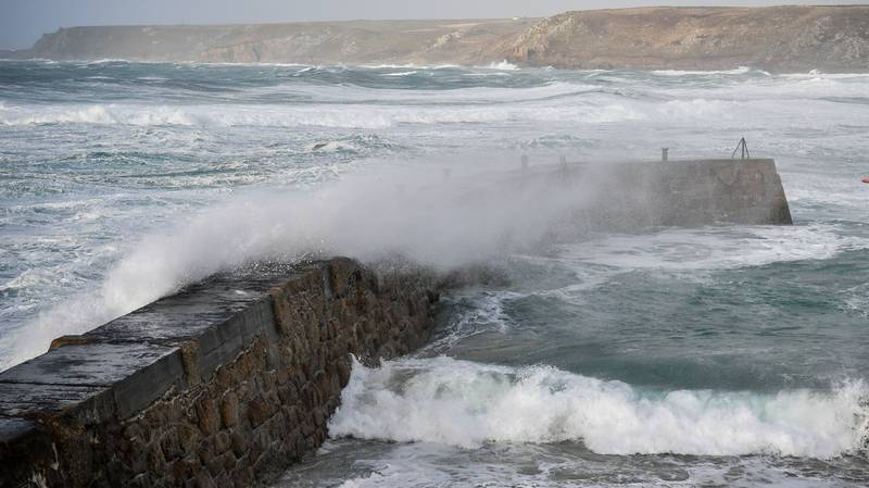 Danger To Life Warning Issued As Storm Dennis Brings 'Weather Bomb'