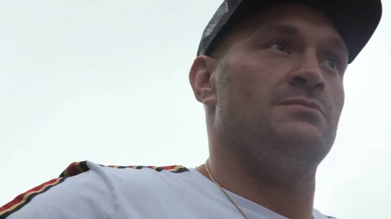 Tyson Fury Chases Down Teen For Candid Conversation About Mental Health