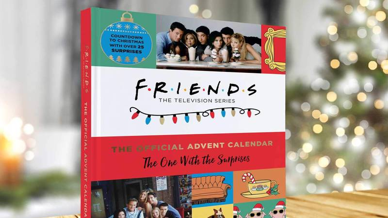 You Can Now Get A Friend's Themed Advent Calendar