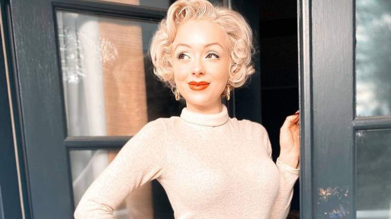 Marilyn Monroe Lookalike Shares TikTok Tour Of Star's Former Mansion