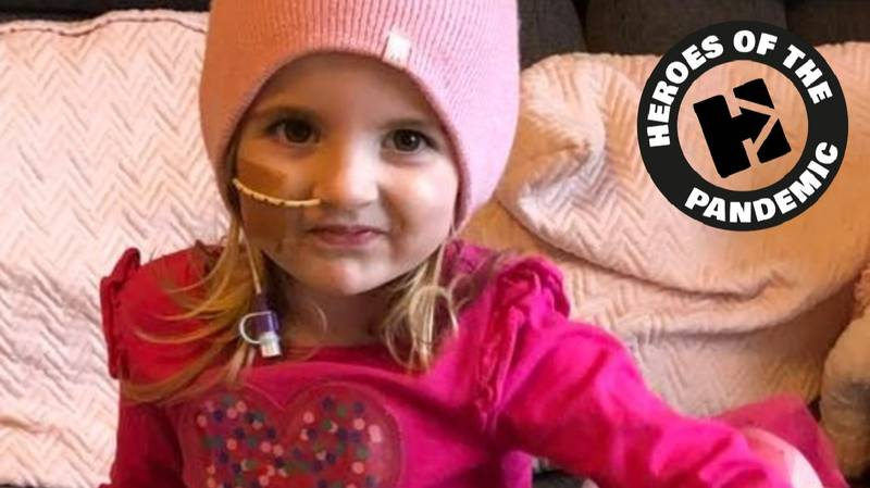 ​Girl, Three, Defies Odds To Recover From Stroke During Lockdown