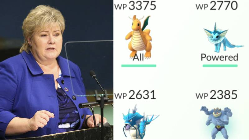 Norwegian Prime Minister Caught Playing Pokémon Go In Parliament