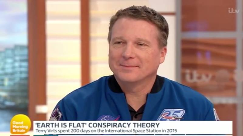 Flat Earther Argues With Astronaut About Shape Of The Planet