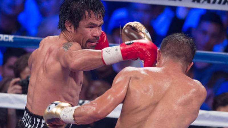 Sixteen-Year-Old Manny Pacquiao Knocks Older Opponent To The Floor In Unseen Video