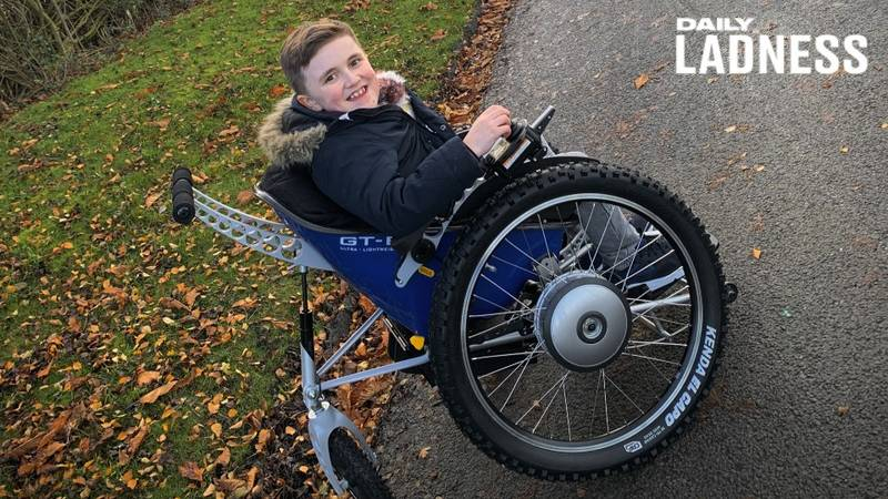 Parents Of Boy With Terminal Illness Thank LADbible Readers For Life-Changing Wheelchair