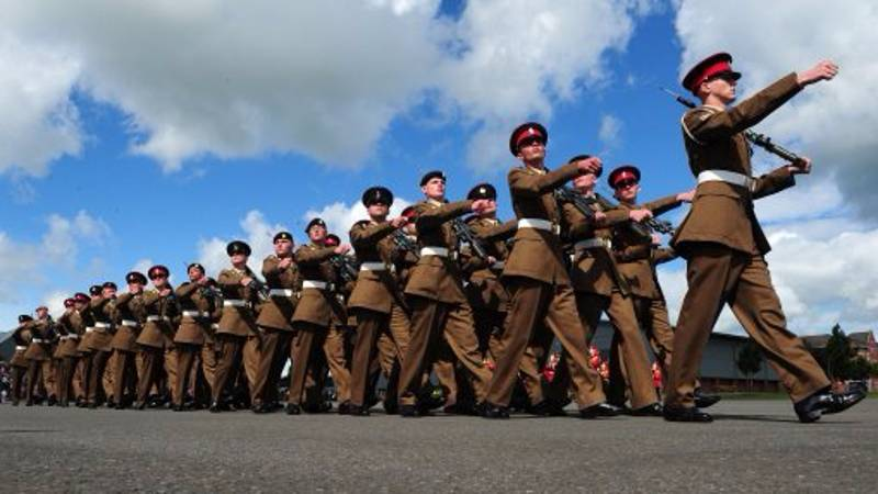 Only One Rank In The British Army Is Allowed To Have A Beard On Parade