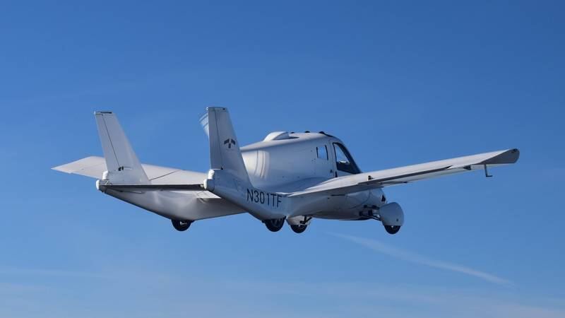 World's First Flying Car Cleared For Take-Off After Receiving FAA Certificate