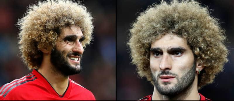 Manchester Utd Player Marouane Fellaini Has Cut His Hair