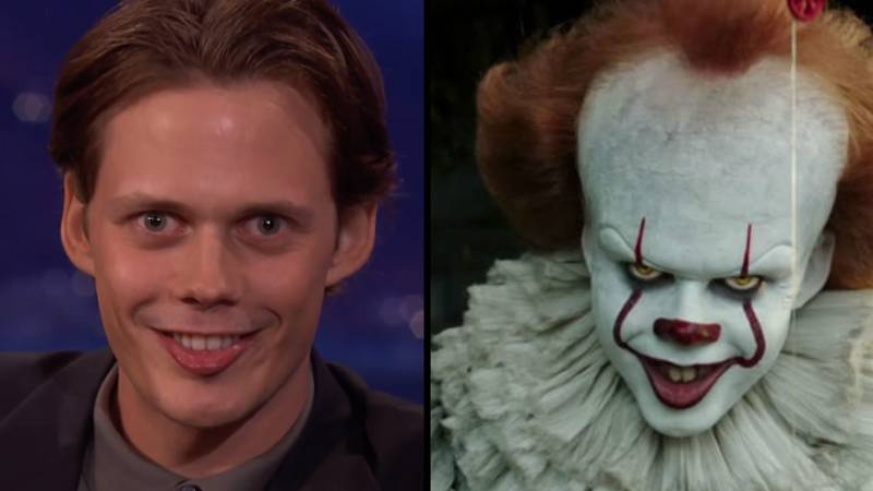 Bill Skarsgård Reveals How He Developed That Creepy Smile For Pennywise