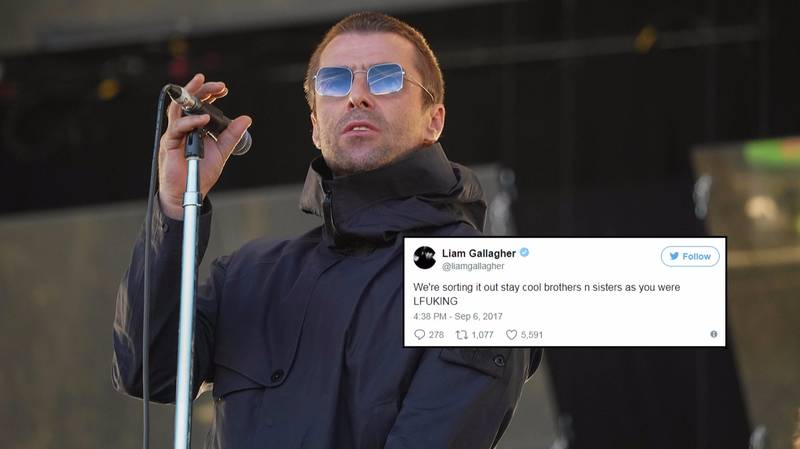 Liam Gallagher Responds To Fans Complaining About Ticket Touts