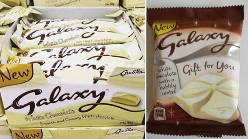 This White Galaxy Chocolate Is What Dreams Are Made Of