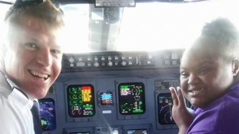 Terminally Ill Teen With Down's Syndrome Achieves Dream Of Becoming Flight Attendant