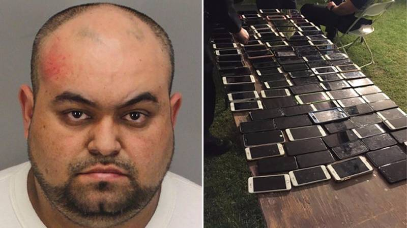 Man Accused Of Stealing More Than 100 Phones At Coachella Festival