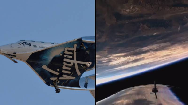 Virgin Enters Space For The First Time In Amazing Footage