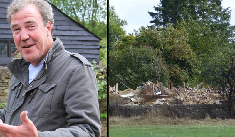 Jeremy Clarkson Pisses Off His Neighbours By Blowing Up His House