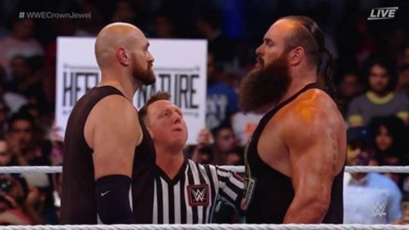 Tyson Fury Beats Braun Strowman At WWE Saudi Arabia Show