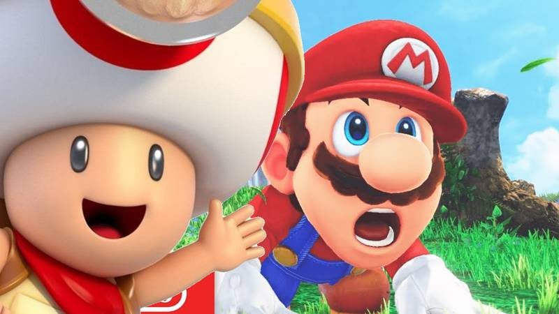 'Super Mario Odyssey' Producer Finally Settles Debate About Toad's Head