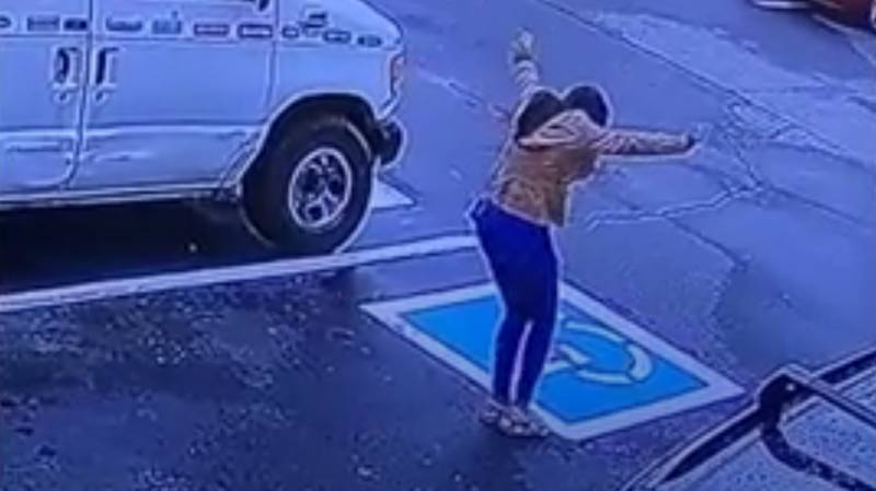 Woman's Reaction To Getting Job Goes Viral After She's Caught Dancing In Parking Lot