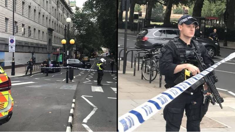 BREAKING: Westminster Car Crash Being Treated As Terrorist Incident