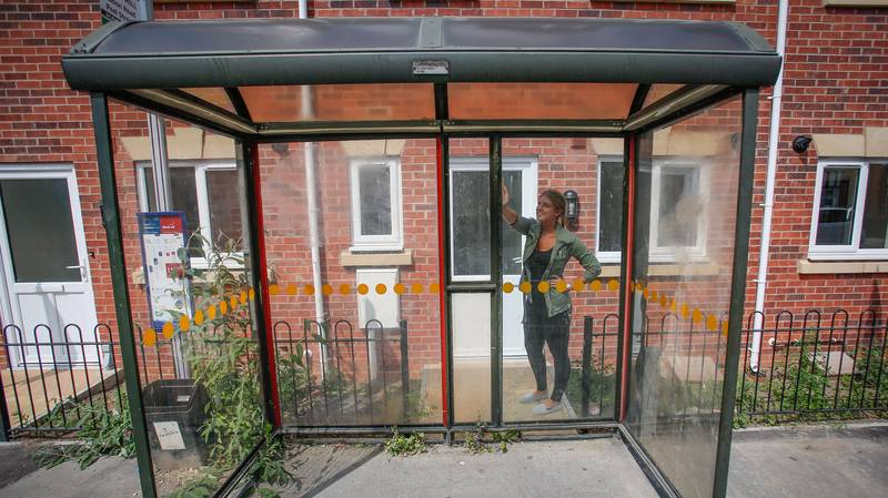 This House Literally Has A Bus Stop On Its Doorstep