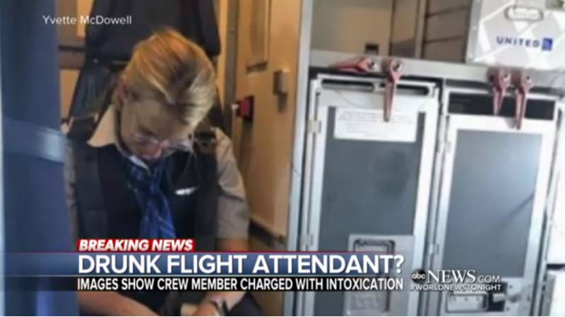 Flight Attendant Who Was Drunk During Flight Charged With Intoxication