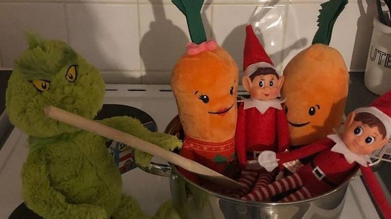 Mum Leaves Five-Year-Old Son In Tears Over Elf On The Shelf Prank