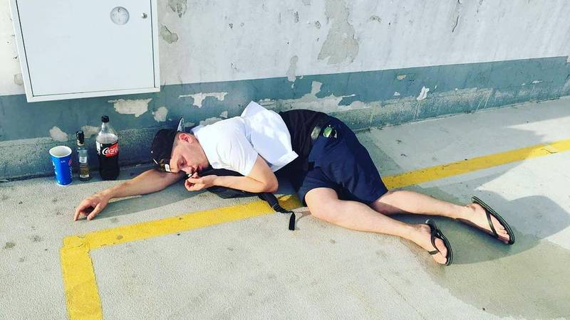 LAD Creates Instagram Account Dedicated To Photos Of Himself Drunk And Passed Out
