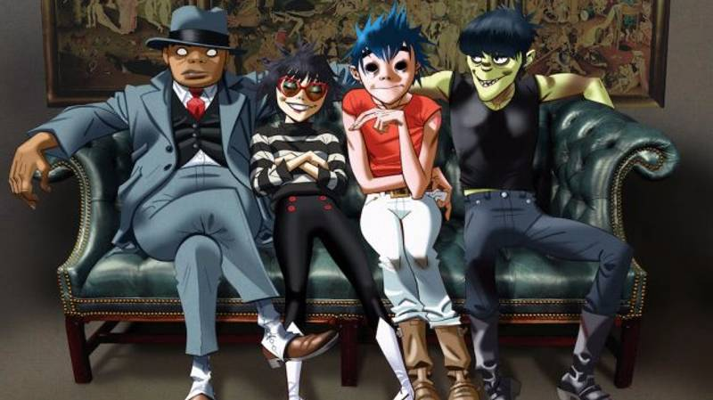 As Expected The New Gorillaz Album 'Humanz' Looks Fucking Sick