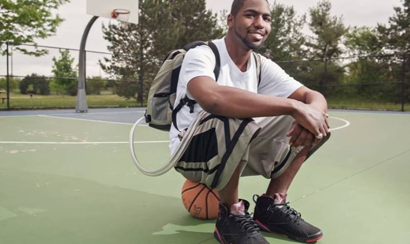 Lad Plays Basketball Despite The Fact He Doesn't Have A Heart