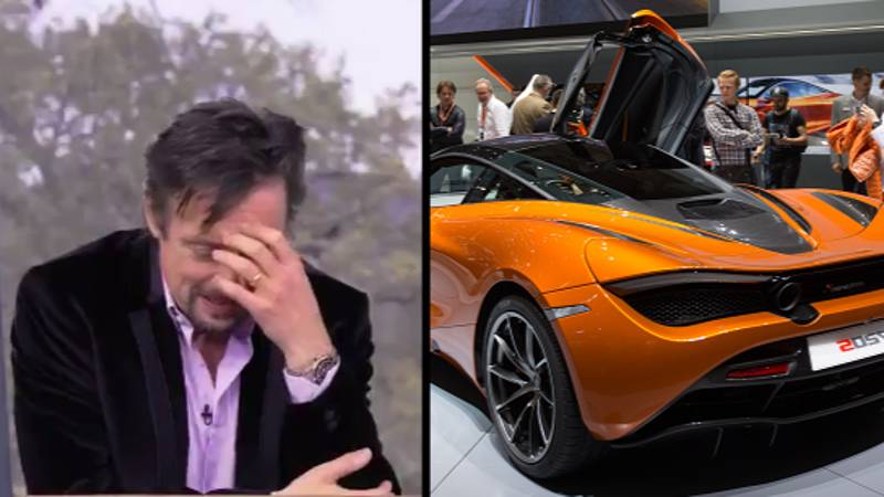 Richard Hammond Destroyed A £200,000 McLaren After Putting Water In Petrol Tank